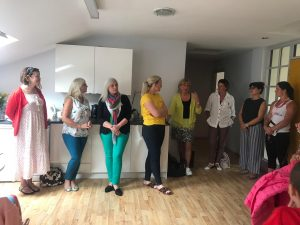 Coffee morning women support women