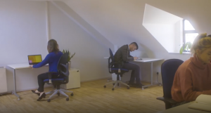 Remote Working in coworking space